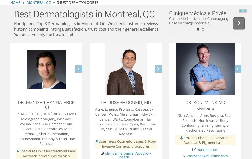 Walk in clinic montreal